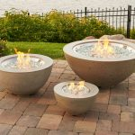 Fire Tables from Outdoor Great Room