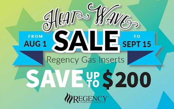 Regency Gas Inserts Save up to $200