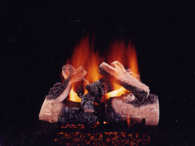 Twilight Inferno wood on fire