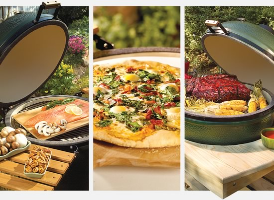 Big Green Egg Grill Bake Oven