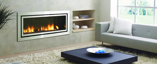 Wood, Gas, Inserts and electric fireplaces by Flame Connection ...