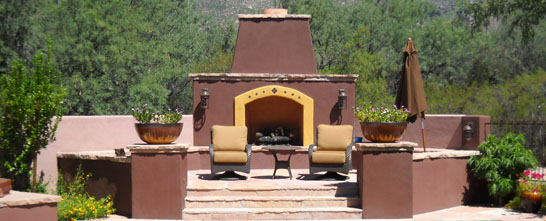 Flame Connection Outdoor Fireplaces