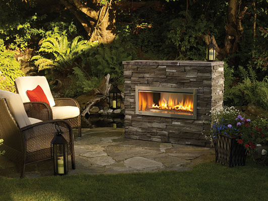 Outdoor Fireplace Gallery Flame Connection Serving