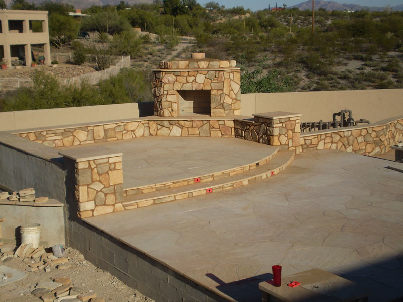Fireplace Design az fireplaces : Outdoor Fireplace Gallery | Flame Connection Serving Southern AZ ...