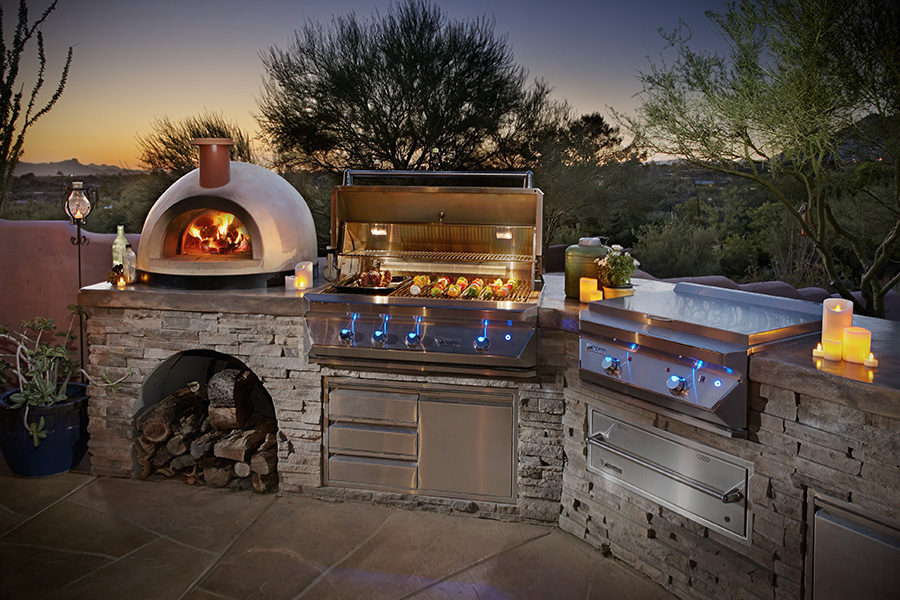 Outdoor Kitchens Gallery   Flame Connection Serving ...