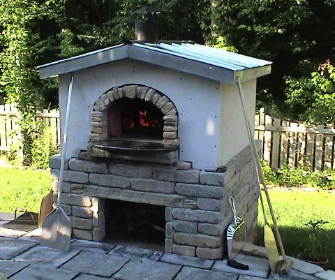 Custom Pizza Ovens By Forno Bravo Flame Connection